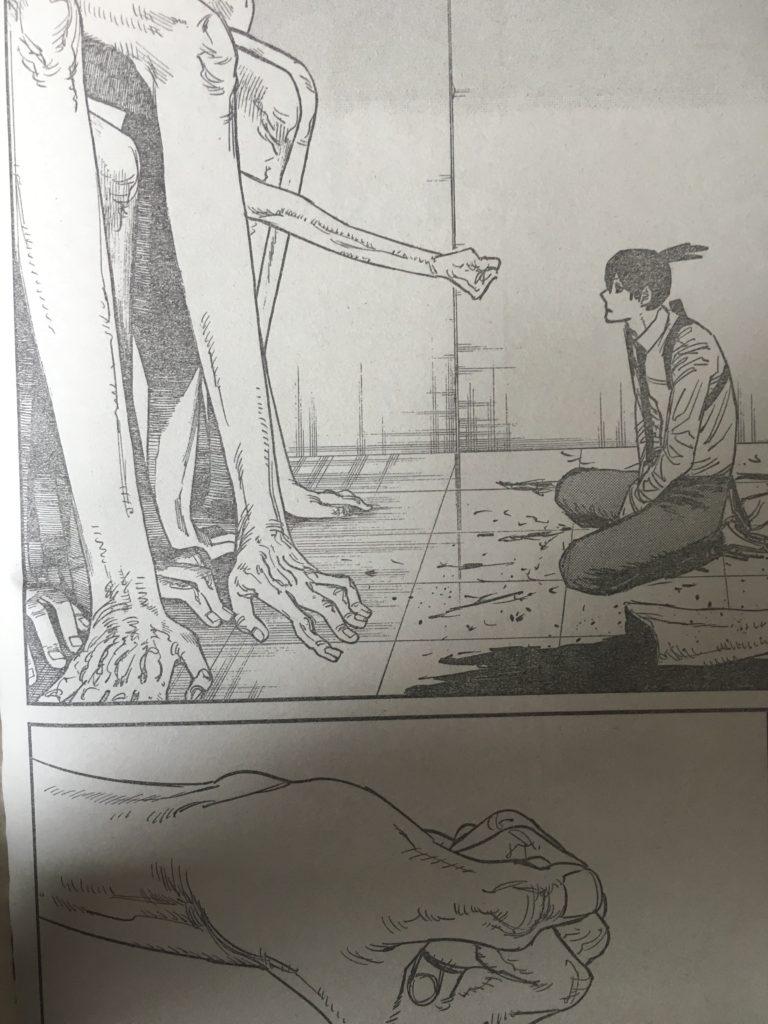 チェンソーマン 最新話 ネタバレ 感想 第35話 批評 レビュー 評価 面白い 面白くない 姫野 タバコ 幽霊の悪魔